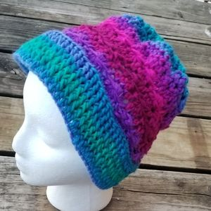 Colorful Crochet Handmade Winter Hat